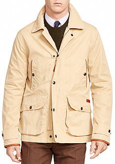Polo Ralph Lauren Cotton-Blend Twill Coat