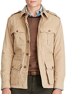 Polo Ralph Lauren Cotton-Blend Safari Jacket