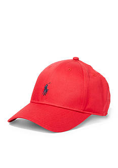 Polo Ralph Lauren Cotton-Blend Baseline Cap