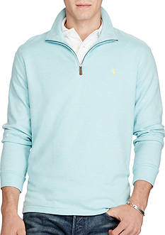 Polo Ralph Lauren Cotton-Blend Half-Zip Pullover
