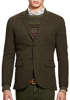 Polo Ralph Lauren Double-Knit Cotton-Wool Blazer