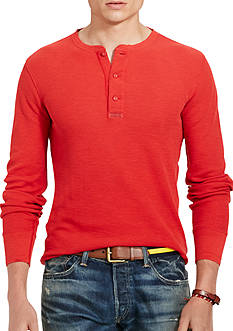 Polo Ralph Lauren Cotton Jacquard Henley Shirt