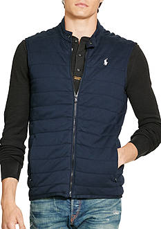 Polo Ralph Lauren Pima Cotton Interlock Vest