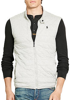Polo Ralph Lauren Quilted Jersey Vest