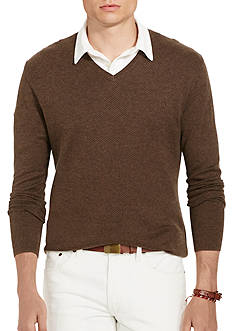 Polo Ralph Lauren Herringbone Pima Sweater