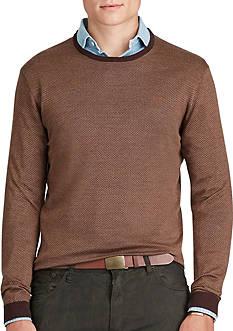 Polo Ralph Lauren Silk-Cotton Crewneck Sweater