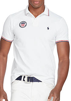 Polo Ralph Lauren USA Pique Polo Shirt