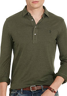 Polo Ralph Lauren Cotton Jacquard Popover Shirt