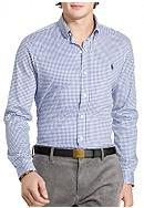 Polo Ralph Lauren Gingham Knit Dress Shirt