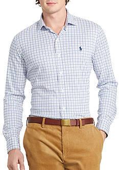 Polo Ralph Lauren Tattersall Knit Dress Shirt