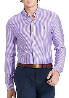 Polo Ralph Lauren Striped Knit Dress Shirt