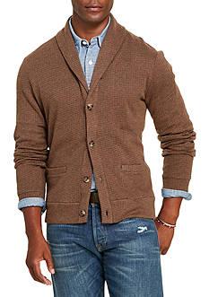 Polo Ralph Lauren Jacquard Fleece Shawl Cardigan