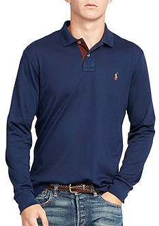 Polo Ralph Lauren Long-Sleeve Pima Soft-Touch Polo Shirt