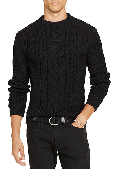 Polo Ralph Lauren Cable-Knit Merino Wool Sweater