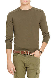 Polo Ralph Lauren Merino Wool Moto Sweater