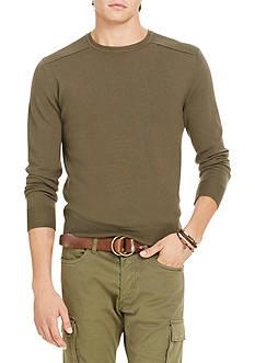 Polo Ralph Lauren Merino Wool Moto Sweater