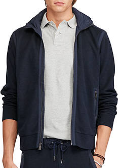 Polo Ralph Lauren Cotton-Blend Hooded Jacket