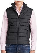 Polo Ralph Lauren Paneled Full-Zip Vest