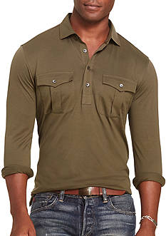 Polo Ralph Lauren Cotton Military Popover Shirt