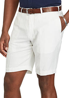 Polo Ralph Lauren Classic-Fit Linen-Blend Shorts