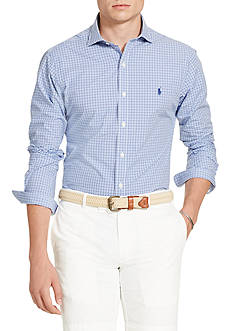 Polo Ralph Lauren Checked Cotton Poplin Shirt