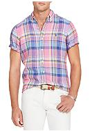 Polo Ralph Lauren Checked Linen Sport Shirt