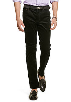 Polo Ralph Lauren Straight-Fit Stretch-Corduroy Pants