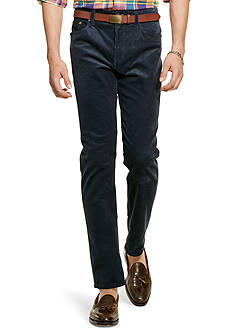 Polo Ralph Lauren Straight-Fit Stretch-Corduroy Pants