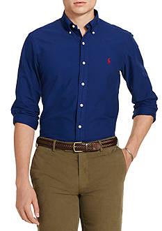 Polo Ralph Lauren Garment-Dyed Cotton Shirt
