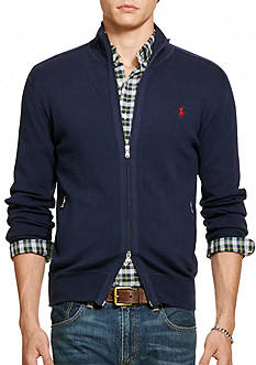 Polo Ralph Lauren Pima-Blend Full-Zip Sweater