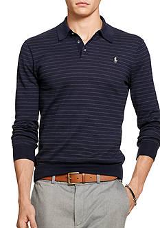 Polo Ralph Lauren Collared Pima Cotton Sweater