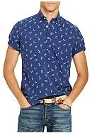 Polo Ralph Lauren Print Cotton Shirt
