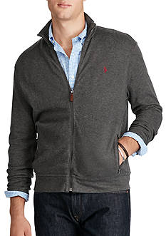 Polo Ralph Lauren Ribbed Cotton Full-Zip Jacket