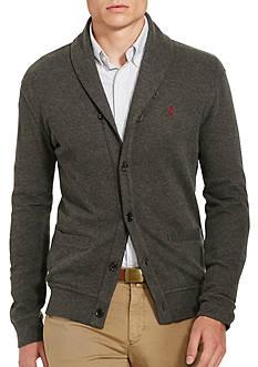Polo Ralph Lauren Ribbed Cotton Shawl Cardigan
