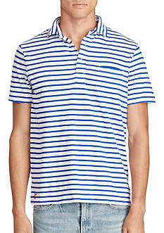 Polo Ralph Lauren Striped Cotton Jersey Popover