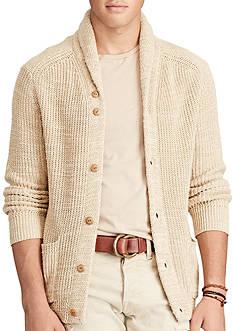 Polo Ralph Lauren Cotton-Linen Shawl Cardigan