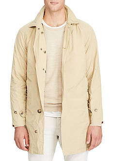 Polo Ralph Lauren Twill Balmacaan Coat