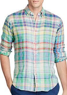 Polo Ralph Lauren Ocean-Wash Linen Sport Shirt