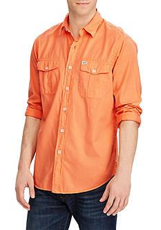 Polo Ralph Lauren Standard Fit Beach Twill Shirt