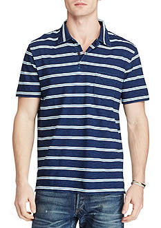 Polo Ralph Lauren Custom Fit Striped Cotton Polo