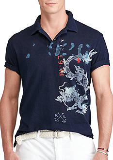 Polo Ralph Lauren Printed Featherweight Polo