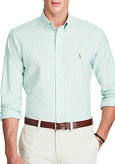 Polo Ralph Lauren Slim Fit Striped Stretch Oxford Shirt
