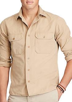 Polo Ralph Lauren Cotton Twill Utility Shirt