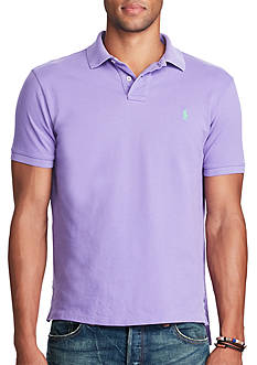 Polo Ralph Lauren Classic Fit Weathered Mesh Polo Shirt