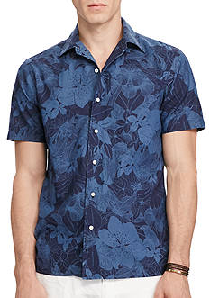 Polo Ralph Lauren Slim Fit Floral Cotton Shirt