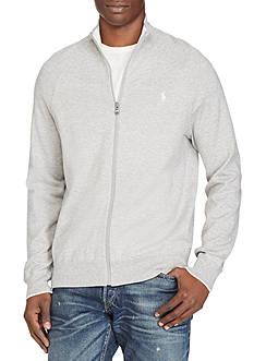 Polo Ralph Lauren Cotton Full-Zip Sweater