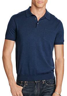 Polo Ralph Lauren Pima Short-Sleeve Sweater