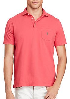 Polo Ralph Lauren Custom Fit Cotton Pocket Polo Shirt