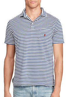 Polo Ralph Lauren Classic Striped Cotton Polo Shirt