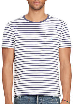 Polo Ralph Lauren Striped Jersey Pocket T-Shirt